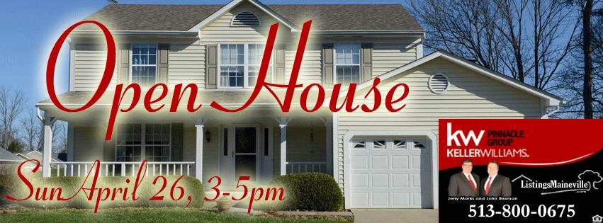 Open House Keller Williams Realtor Real Estate Maineville Oh Realtor Real Estate for Sale Home for Sale